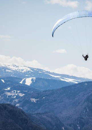 Tandem Paragliding Taormina