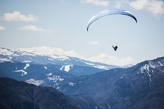 Paragliding in the Mountains