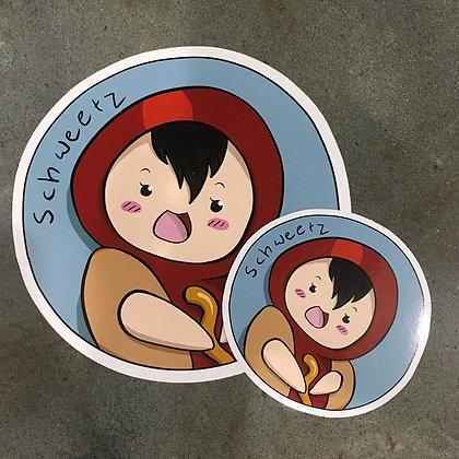 Hotdog Stickers