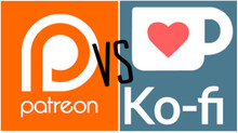 Patreon vs Ko-Fi