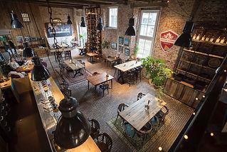 Het restaurant/grand café