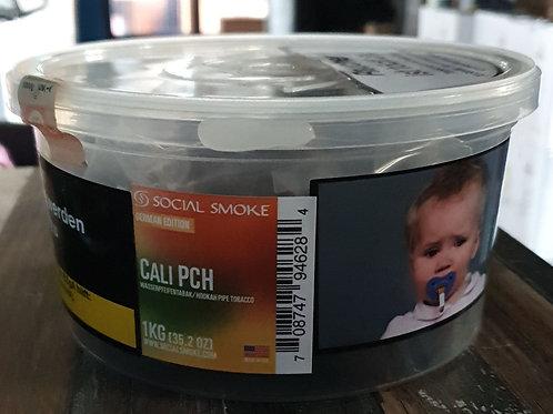 SOCIAL SMOKE Tabak 1kg Pfirsich Eis