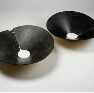 Torsional Wood Bowl