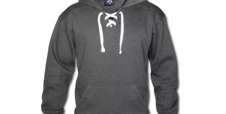 Unisex Lace Up Hoodie