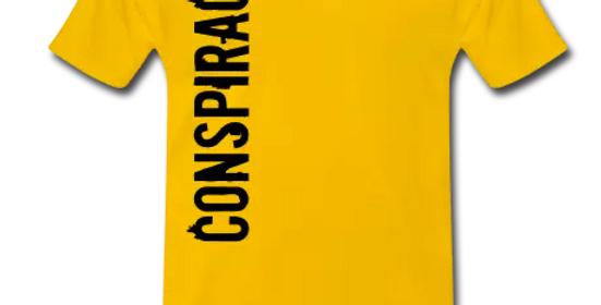 Men's Conspiracy T Shirt (BLackL)
