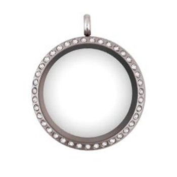 Floating Locket Silver (30mm)