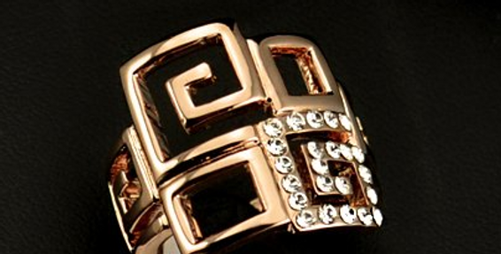 Trendy Italia Ring (Rose Gold)