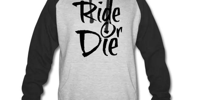 Ride Or Die Colorblock Hoodie