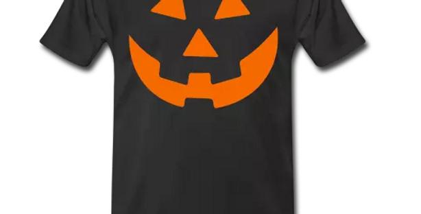 Men's Black Halloween Tshirt