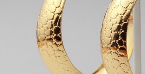 Golden Girl Hoop Earrings