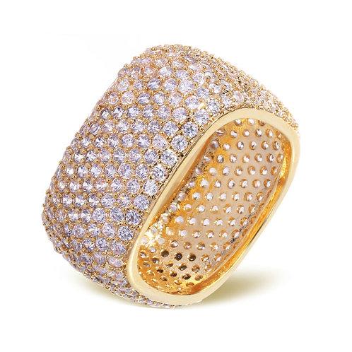 Platinum Plated CZ Ring