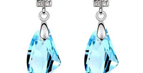 Sky Blue Drop Earrings