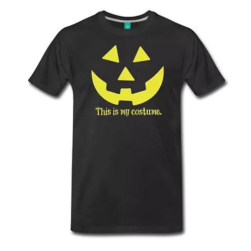 Men's Black/Yellow Halloween Tee
