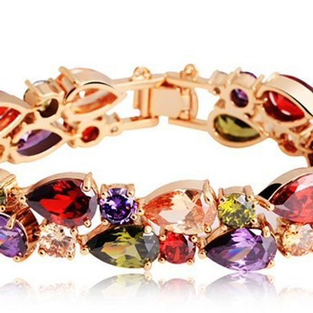 Gold Plated Multi Bracelet