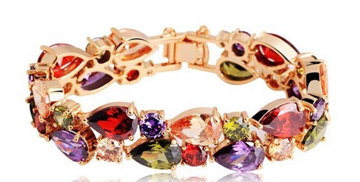 Gold Plated Multi Bracelet