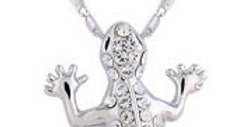 The lucky Gecko necklace