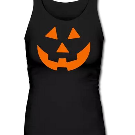 Woman's Longer Fitted Halloween Tank (Pump)