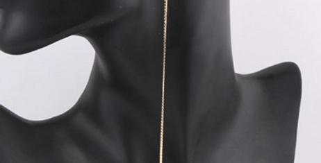 Long Drop Earrings (Silver Or Gold)