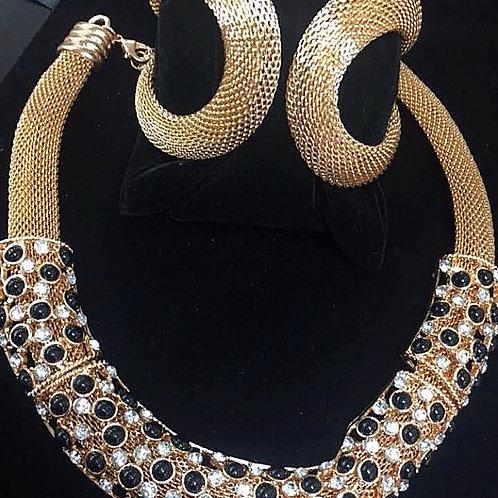 Golden Girl Necklace & Bangle