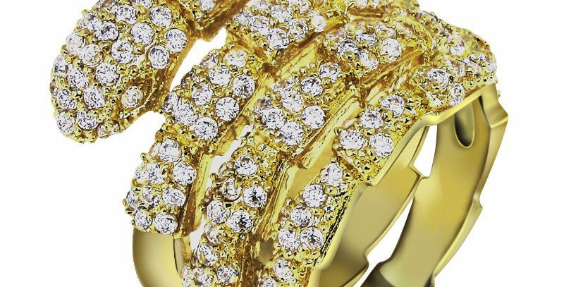 Limited Edition 18K Gold Snake