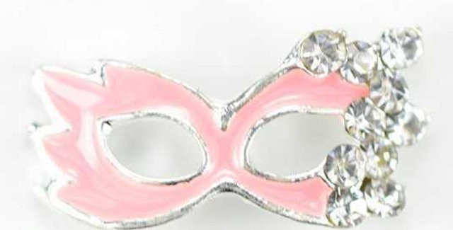 Pink Mask Charm