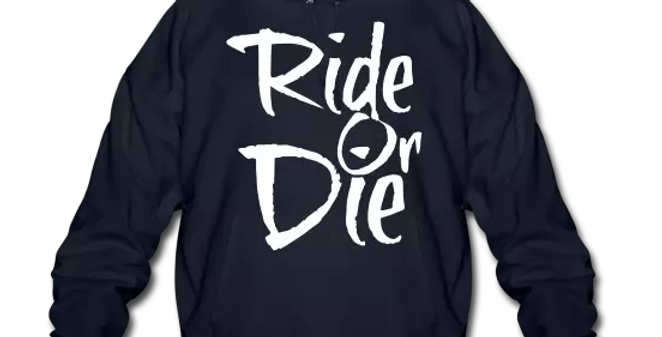 Ride Or Die Big & Tall Men's Pullover Hoodie