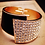 Thumbnail: Leather Bling Bangle