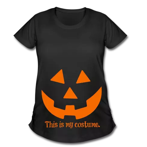 Women's Maternity Halloween T-Shirt (ThisIS)