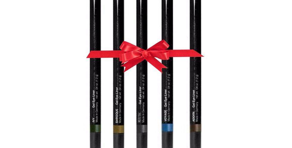 Holiday Gel Eyeliner Set (5)