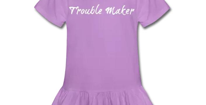 TroubleMaker Ruffle TShirt