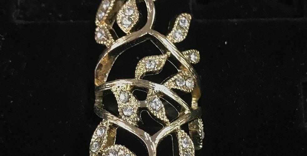 Flower Girl Gold Ring