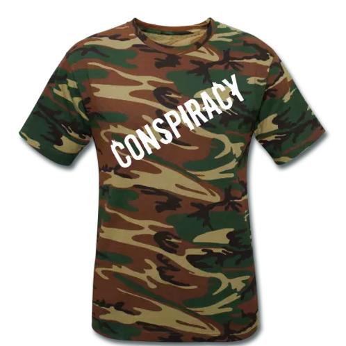 Conspiracy Unisex Camouflage T-Shirt