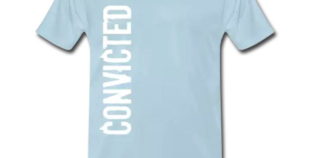 Convicted Signature T Shirt