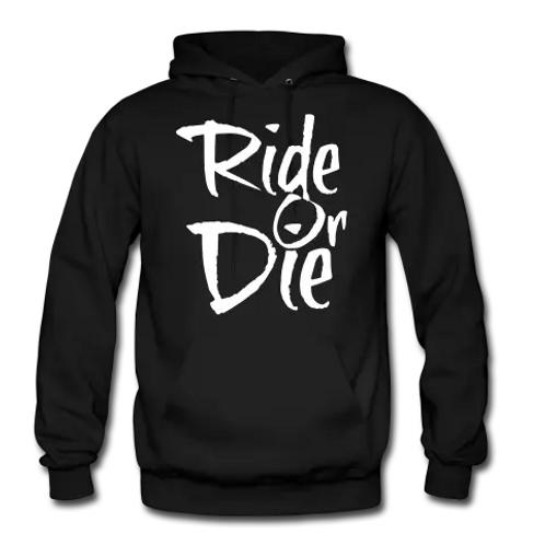 Ride Or Die Men's Premium Pullover Hoodie