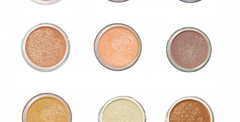 9 Natural Shimmer Shadow Collection