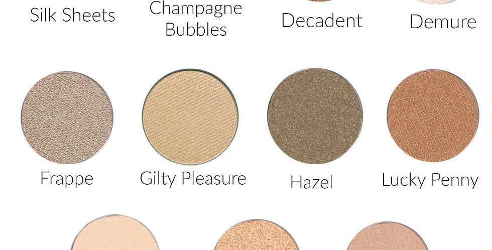 Metallic High Pigment  Eyeshadow (Pan Only)