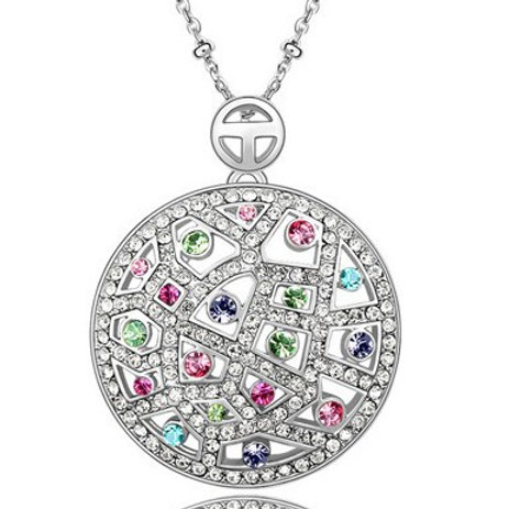 Circle Crystal Pendant