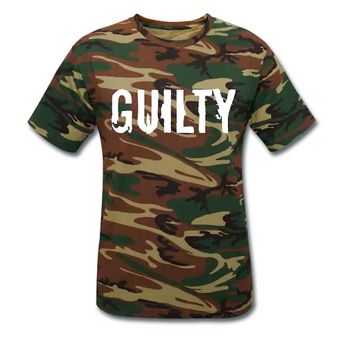 Guilty Unisex Camouflage T-Shirt