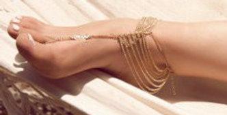 Summer Girl Anklet (Gold)