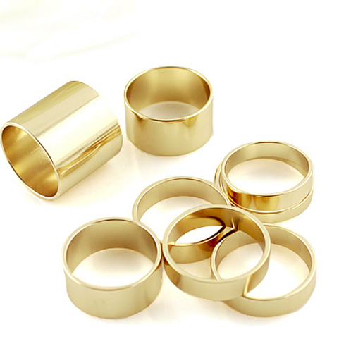 Stacked Punk Rings