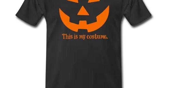 Men's Black/Orange Halloween TShirt