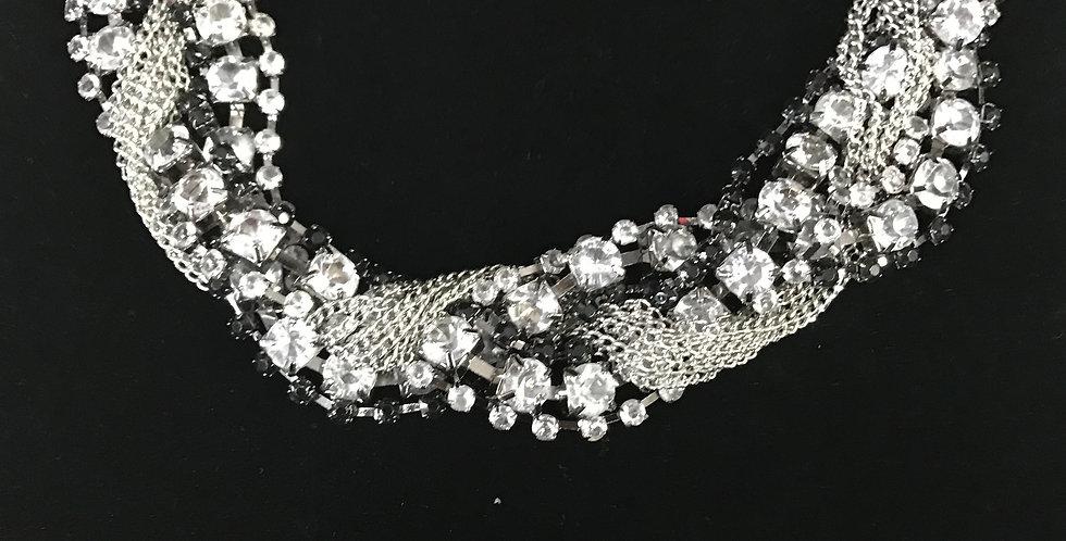 2018 2 Piece Jeweled Set (Necklace&Bracelet)