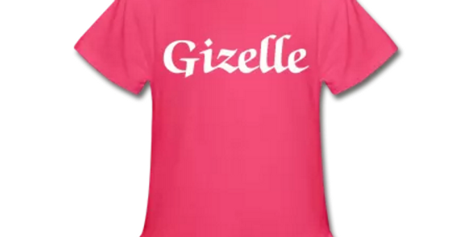 Your Name Ruffle TShirt