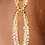 Thumbnail: Gold Classy Bling 2 Piece Set