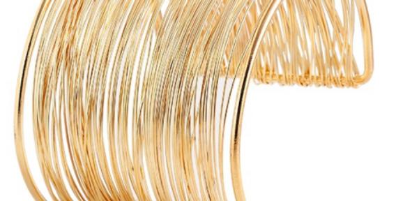 2018 Gold Wired Cuff
