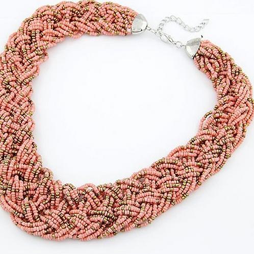Oversized Beaded Necklace