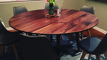 "60"" Walnut Dining Table"