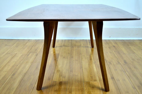 Mahogany African Pommele Sapele Coffee Table