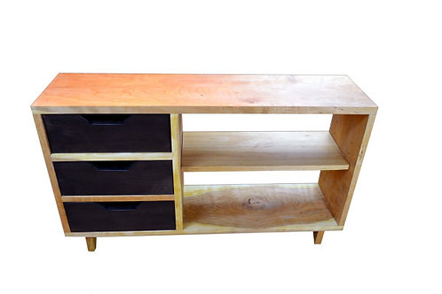 Cherry Media console table