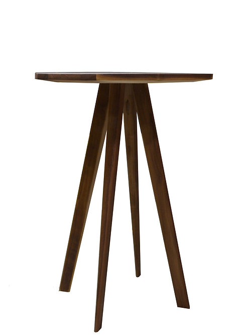 Walnut SPUTNIK Side Table PAIR